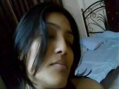 Indian Private university girl sucks and fuck her younger cousin